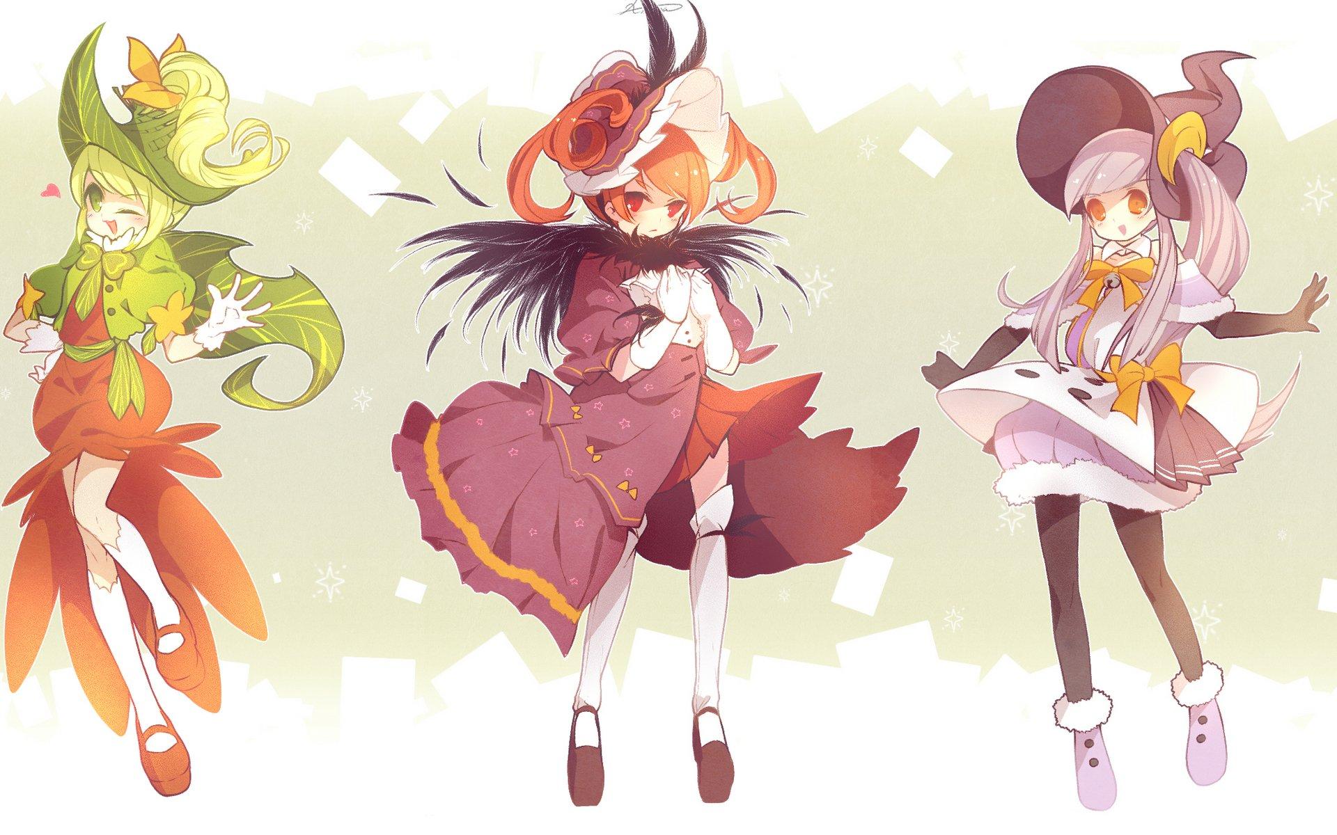 Halloween White Haired Anime Girl Wallpaper Fantasy Girls Full Hd Wallpaper And Background Image