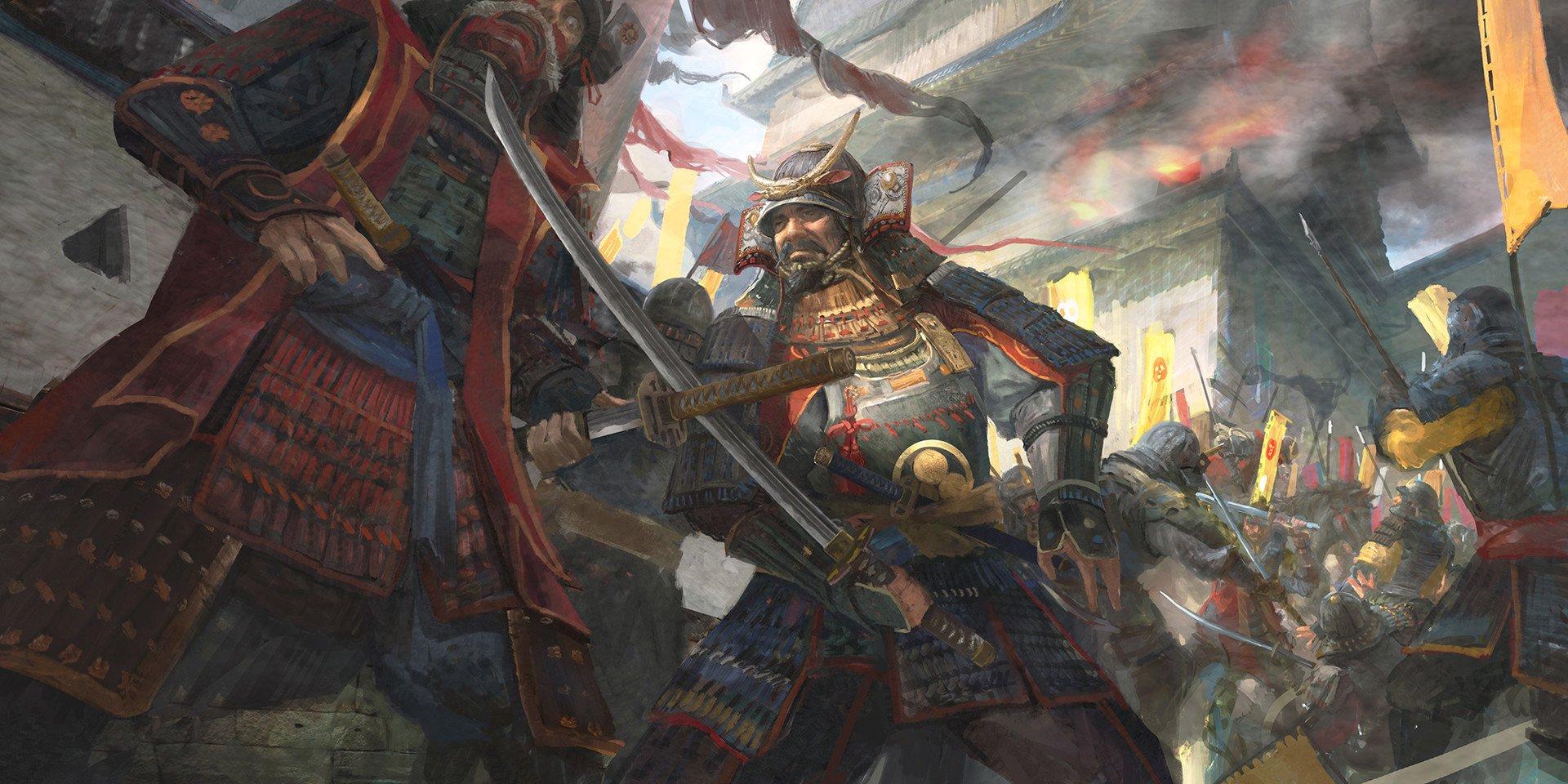 Oriental Girl Wallpaper Samurai Wallpaper And Background 1920x960 Id 717011
