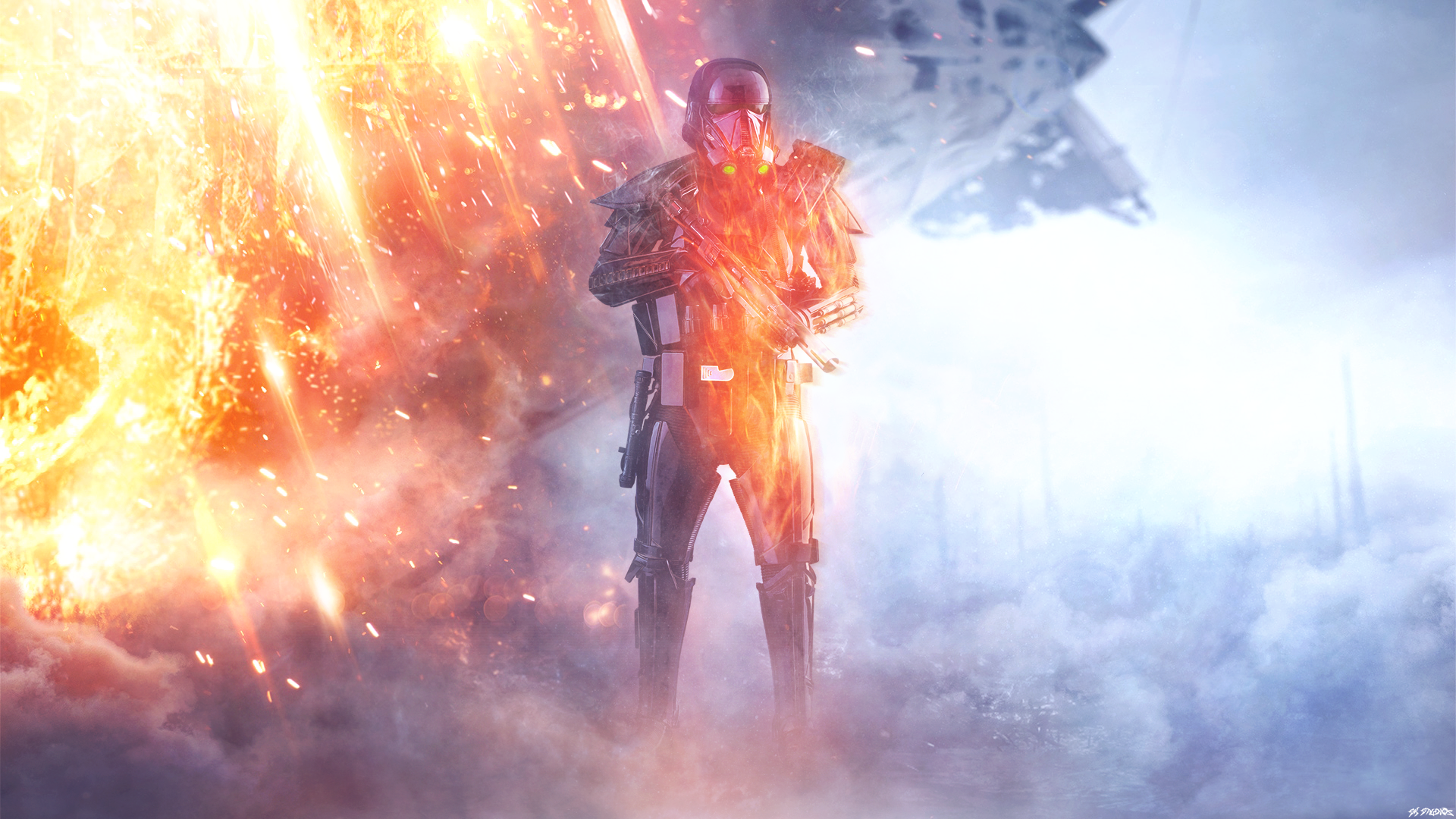 Sikh Wallpapers Hd For Iphone 5 Battlefront 1 Rogue One Death Trooper Full Hd Fond D 233 Cran