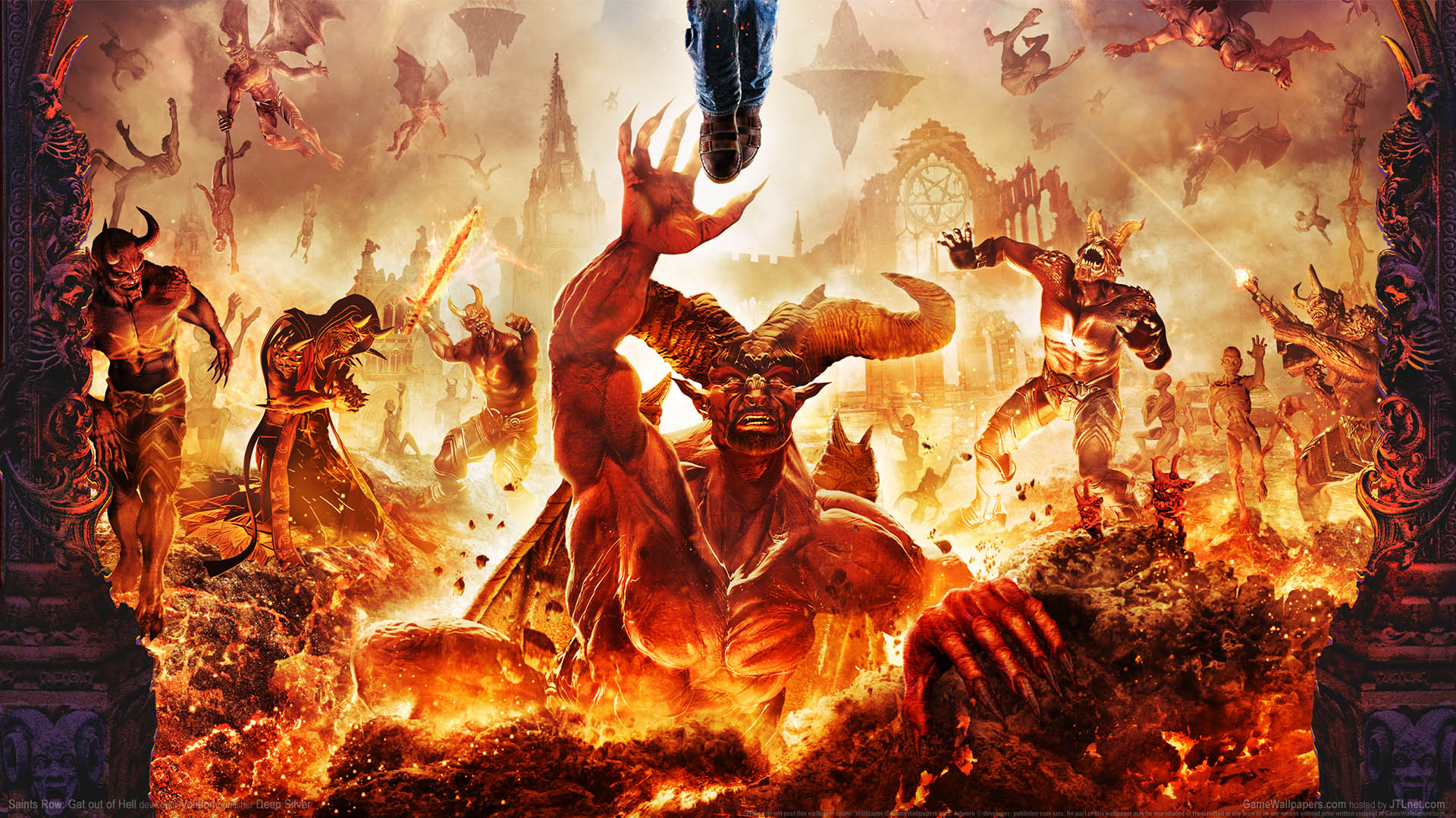 Cool 3d Skull Wallpapers Hell Background Hd Www Pixshark Com Images Galleries