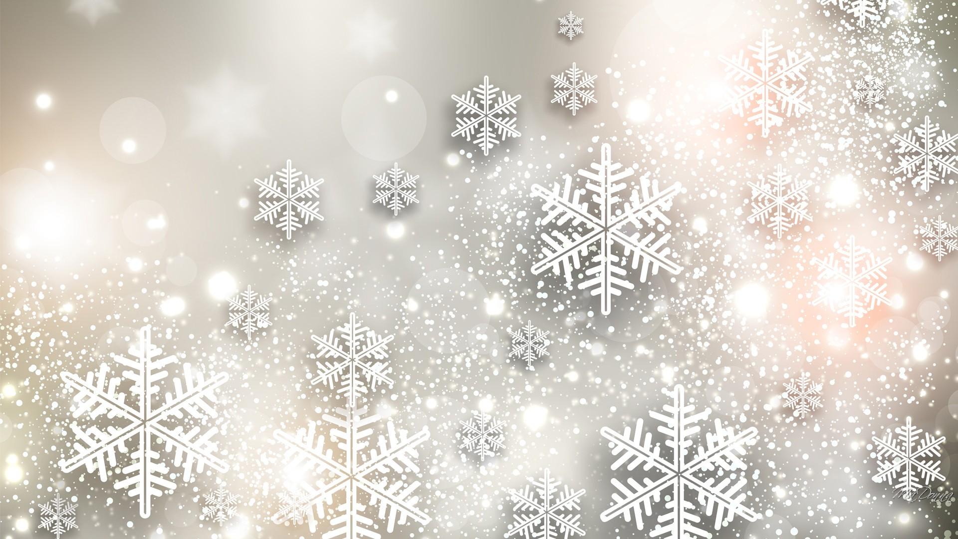 Falling Glitter Wallpaper Snowflakes Full Hd Bakgrund And Bakgrund 1920x1080 Id