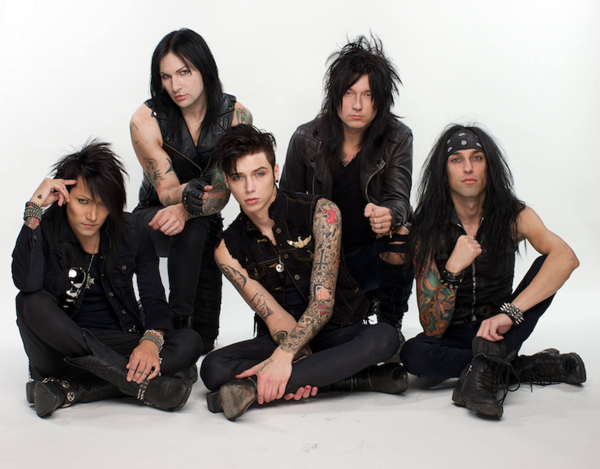 Falling In Reverse Computer Wallpaper Black Veil Brides Hd Wallpaper Background Image