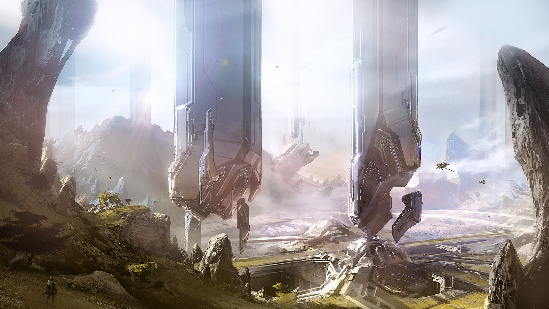 Halo Wallpaper Hd Halo 4 Artwork Full Hd Wallpaper And Background Image