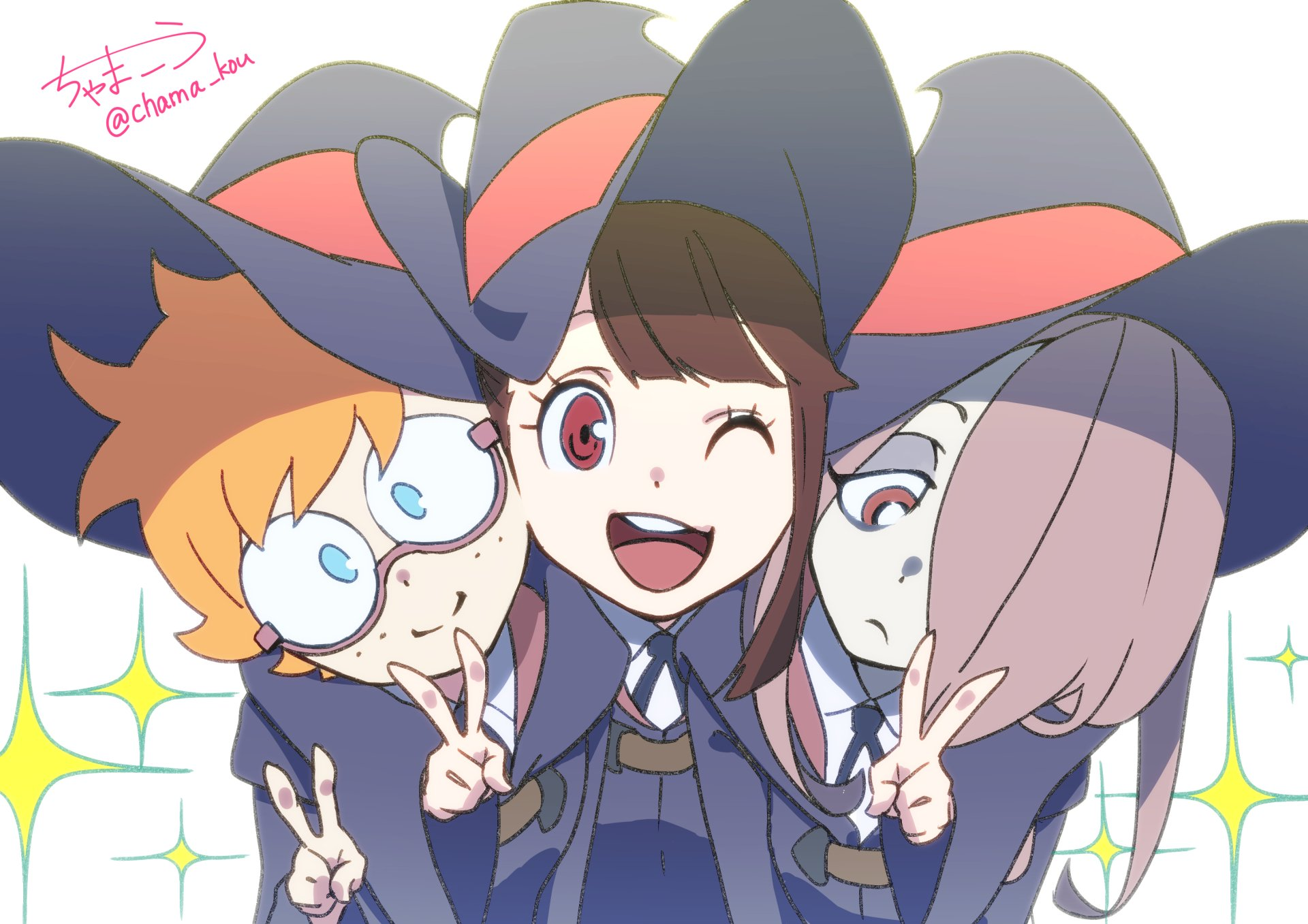 Iphone 8 Plus X Ray Wallpaper Little Witch Academia Hd Wallpaper Background Image