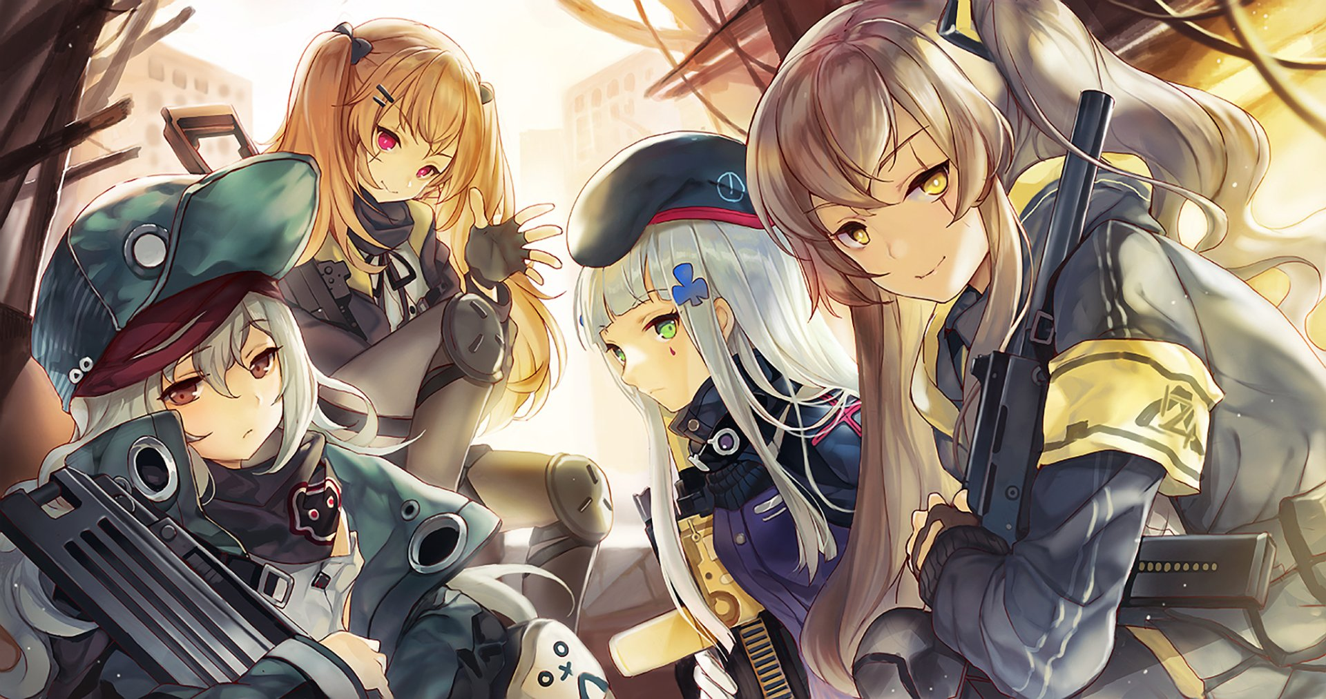 Anime Sniper Girl Wallpaper Hd 少女前线 高清壁纸 桌面背景 2046x1080 Id 943160 Wallpaper Abyss