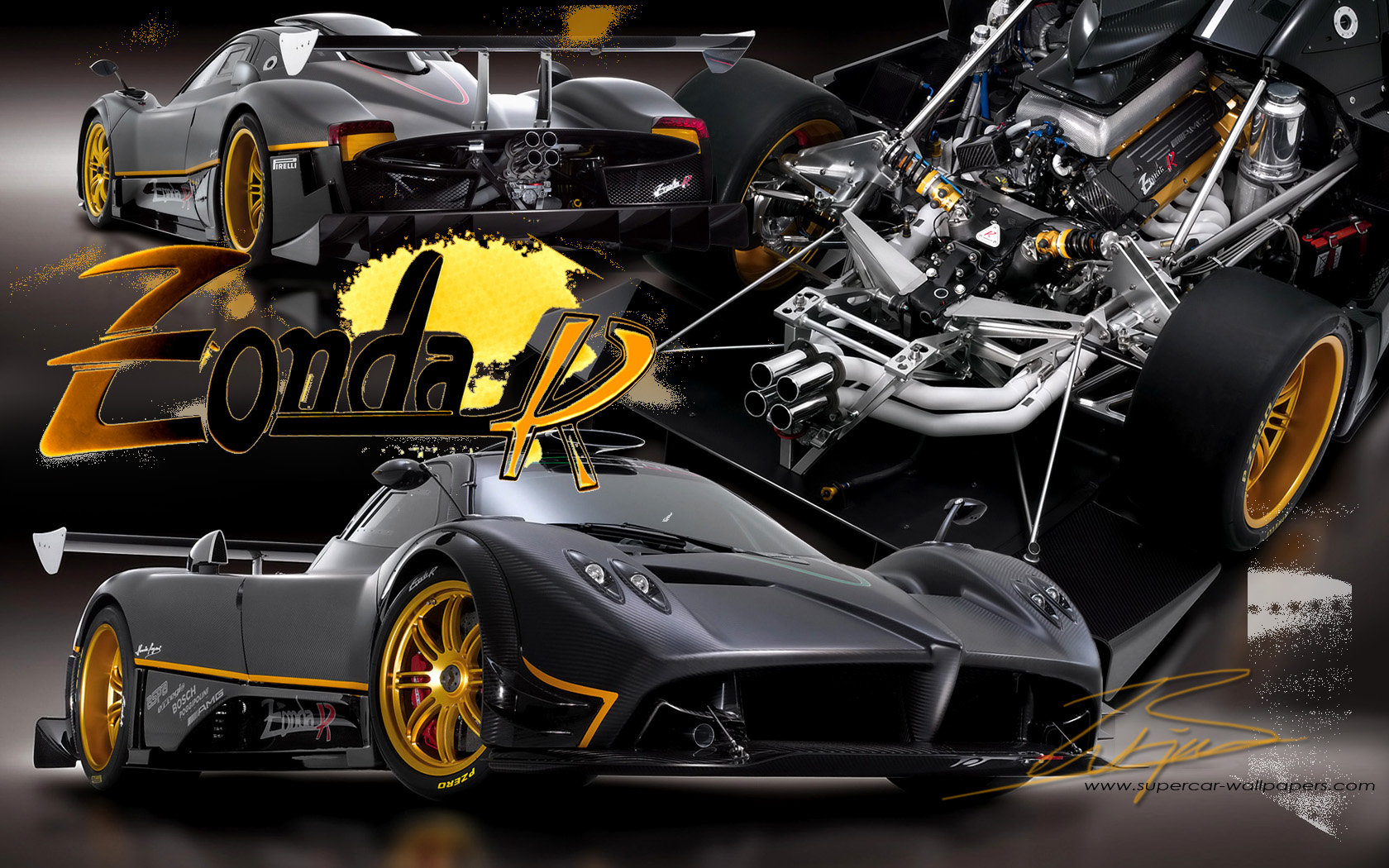 Car Slideshow Wallpaper 11 Pagani Zonda R Hd Wallpapers Background Images