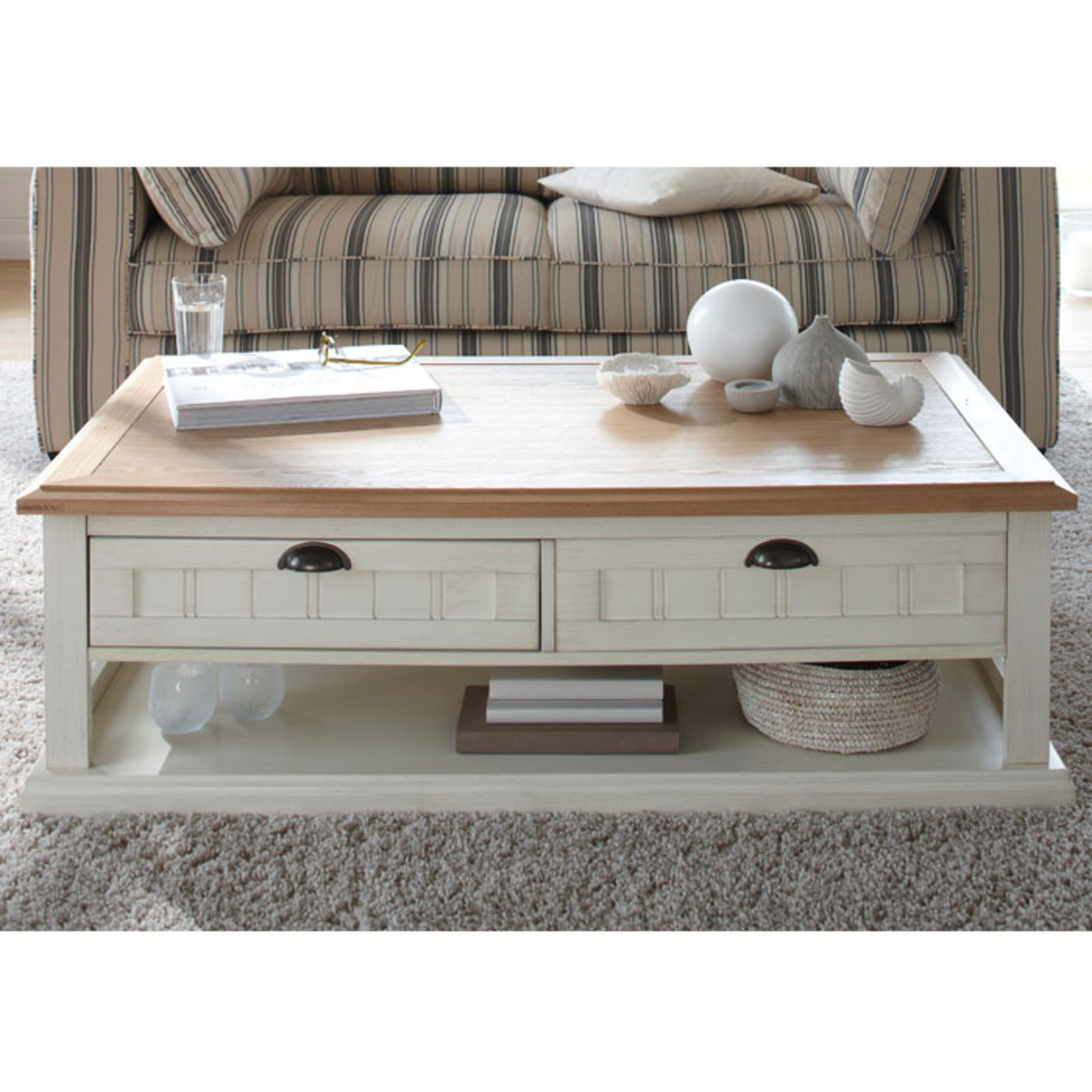 Table Basse Bois Blanc Table Basse Bois Blanc Vieilli Table De Lit