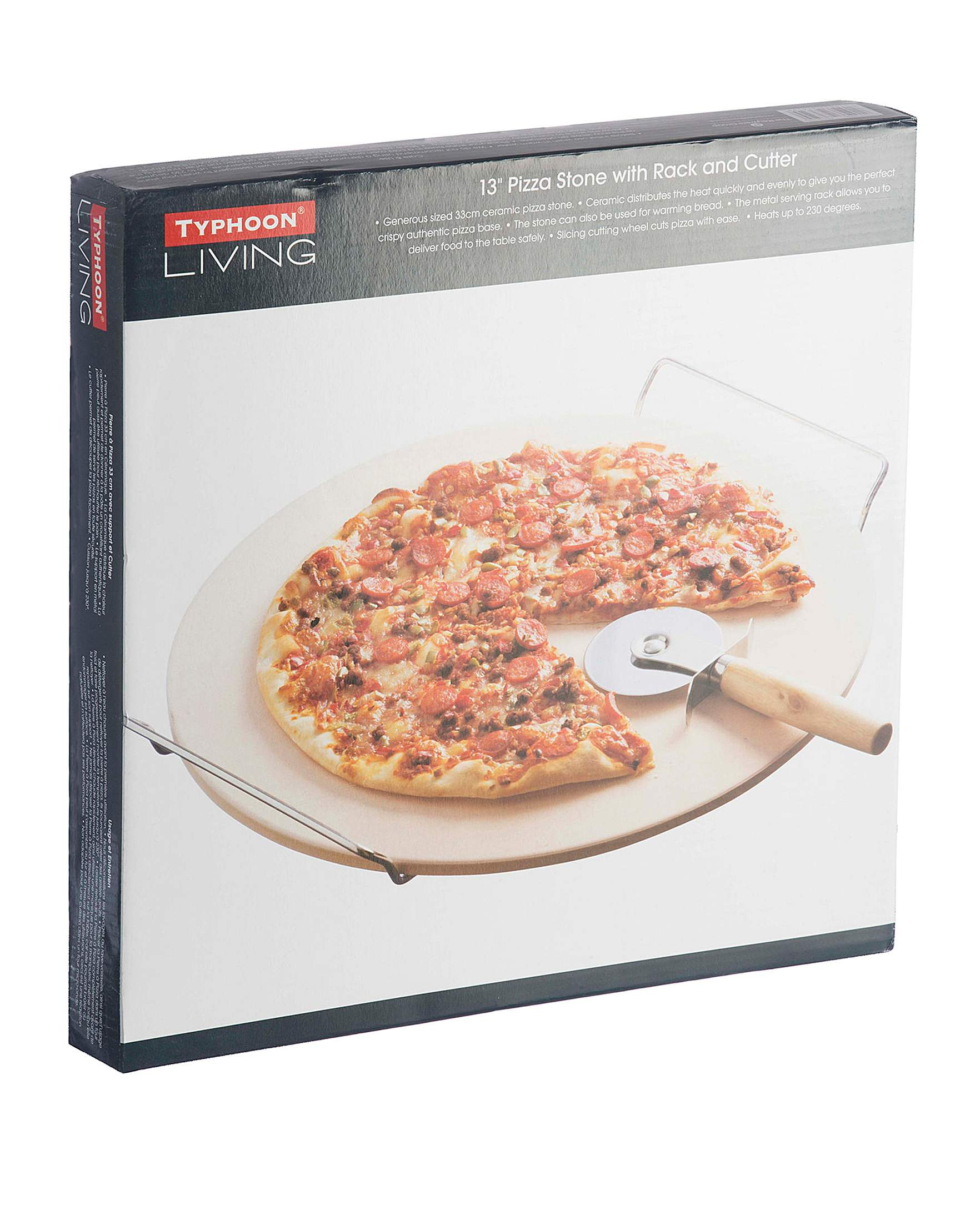 Pierre A Pizza Typhoon Living 3 Piece Pizza Stone Set