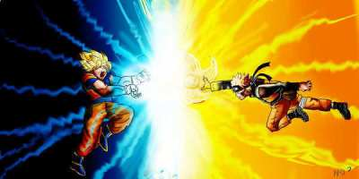 Naruto VS Dragonball Z - Naruto Photo (10806474) - Fanpop