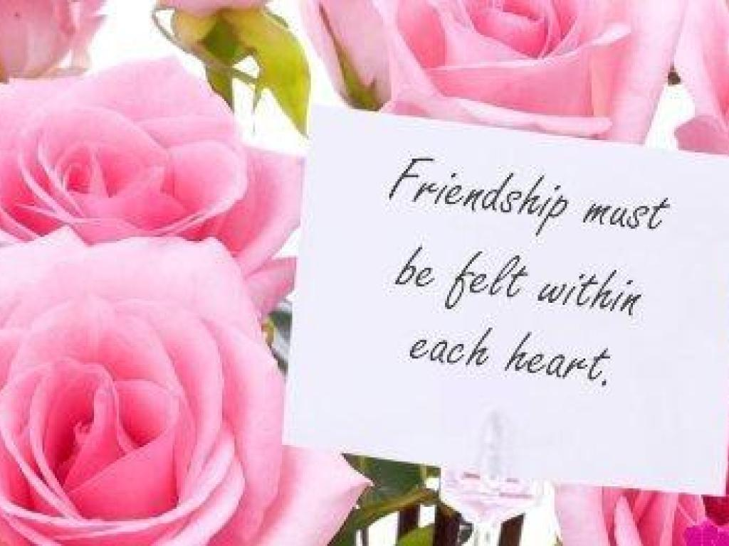Valentines Day Quotes And Sayings Wallpapers Friends Friendship Wallpaper 13105415 Fanpop