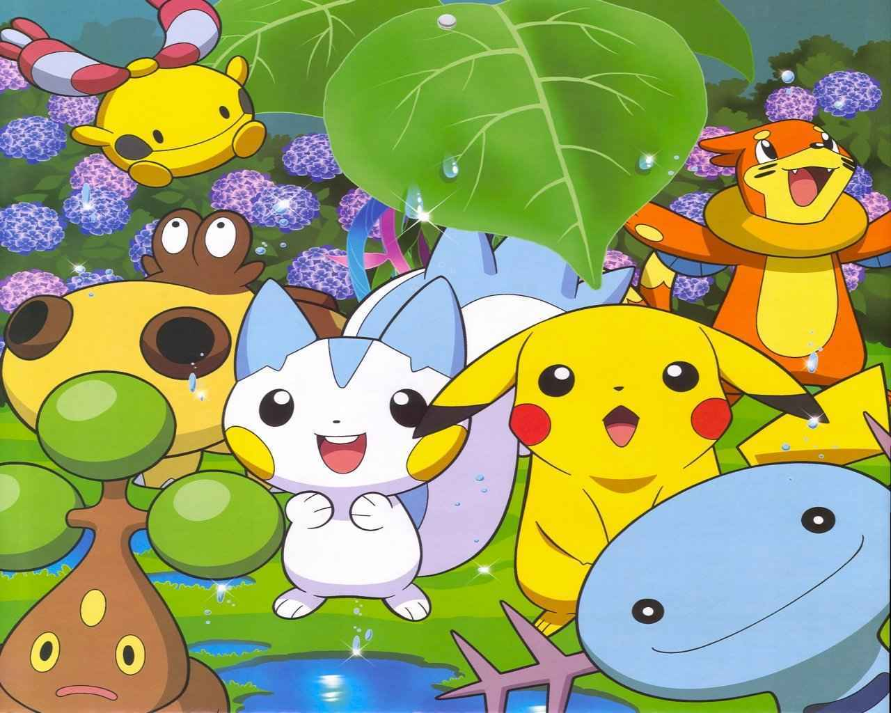 Cute Pikachu Hd Wallpapers Pokemon Pok 233 Mon Wallpaper 13598061 Fanpop