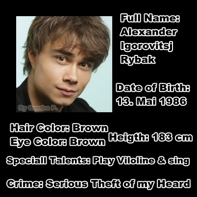 Alexander Rybak images Criminal profile from Alex ;D wallpaper and