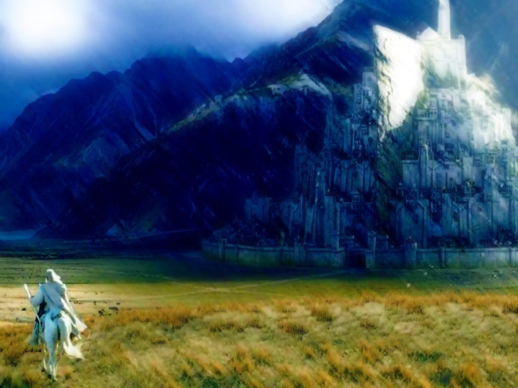 Wallpaper Hd Lord Of The Rings Minas Tirith Images Minas Tirith Hd Wallpaper And
