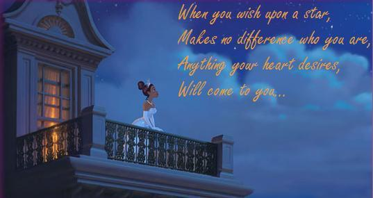 Bruce Lee Quotes Wallpaper Hd The Princess And The Frog Images Tiana S Wish Upon A Star