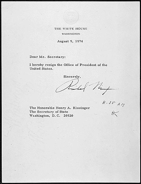 Richard Nixon images Nixon\u0027s Letter of Resignation wallpaper and