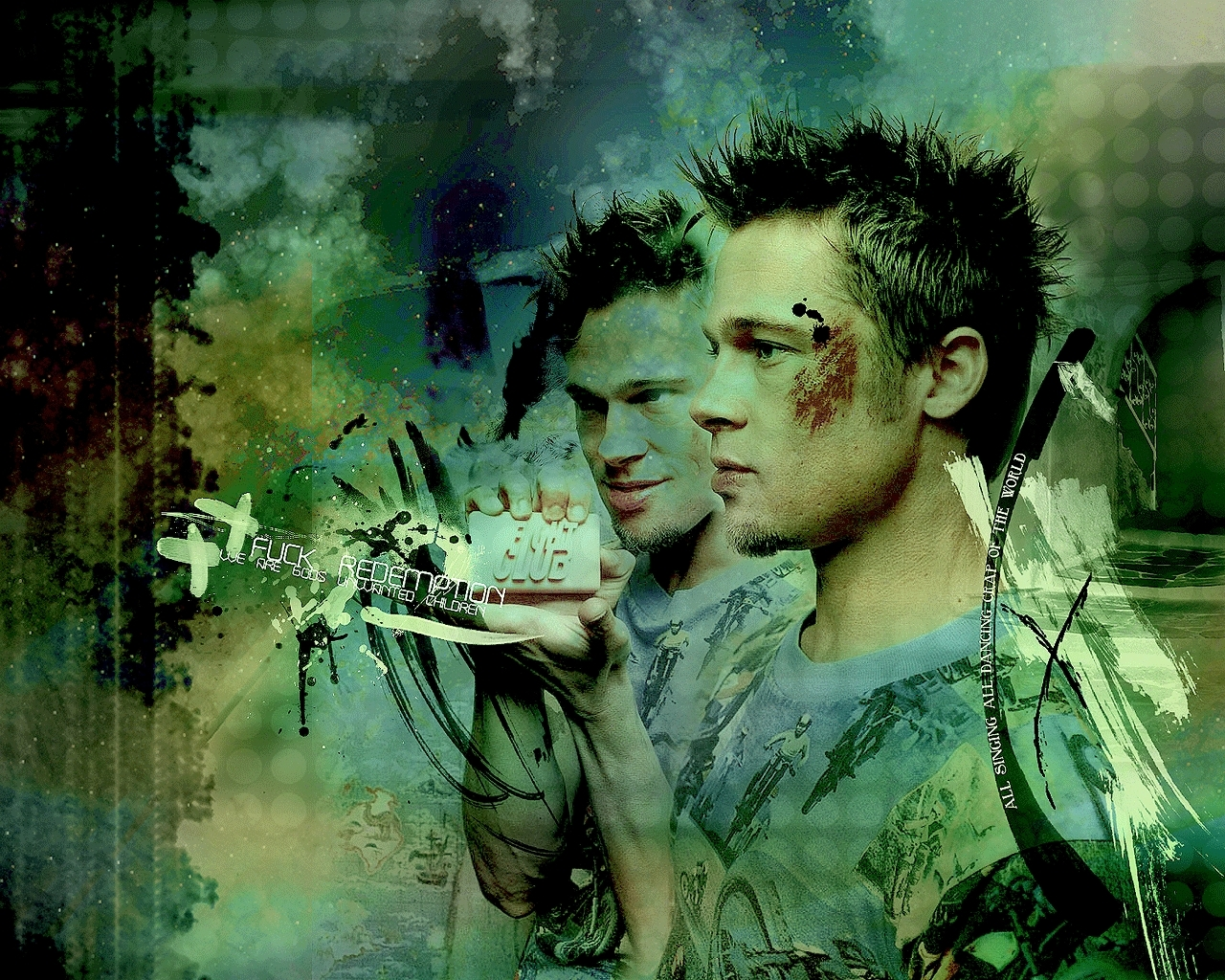 Tyler Durden Iphone Wallpaper The First Rule Of Is On Pinterest Fight