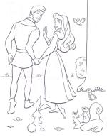 Links To Princess Aurora Coloring Pages