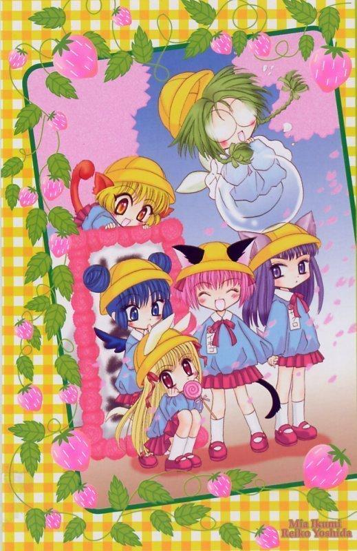 Anime Girl Kawaii Wallpaper Petite Mew Mew Images Petite Mew Mew Hd Wallpaper And