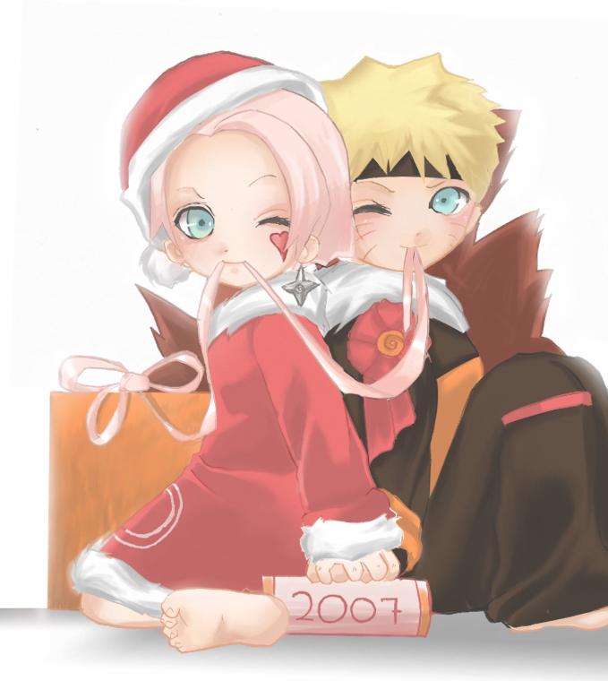 Sakura Haruno Wallpaper Hd Narutoxsakura Images Narusaku Christmas Hd Wallpaper And