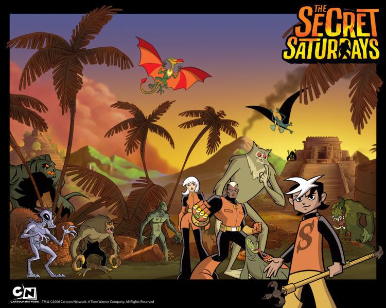 Anime Manga Wallpaper The Secret Saturdays Images The Secret Saturdays Backround