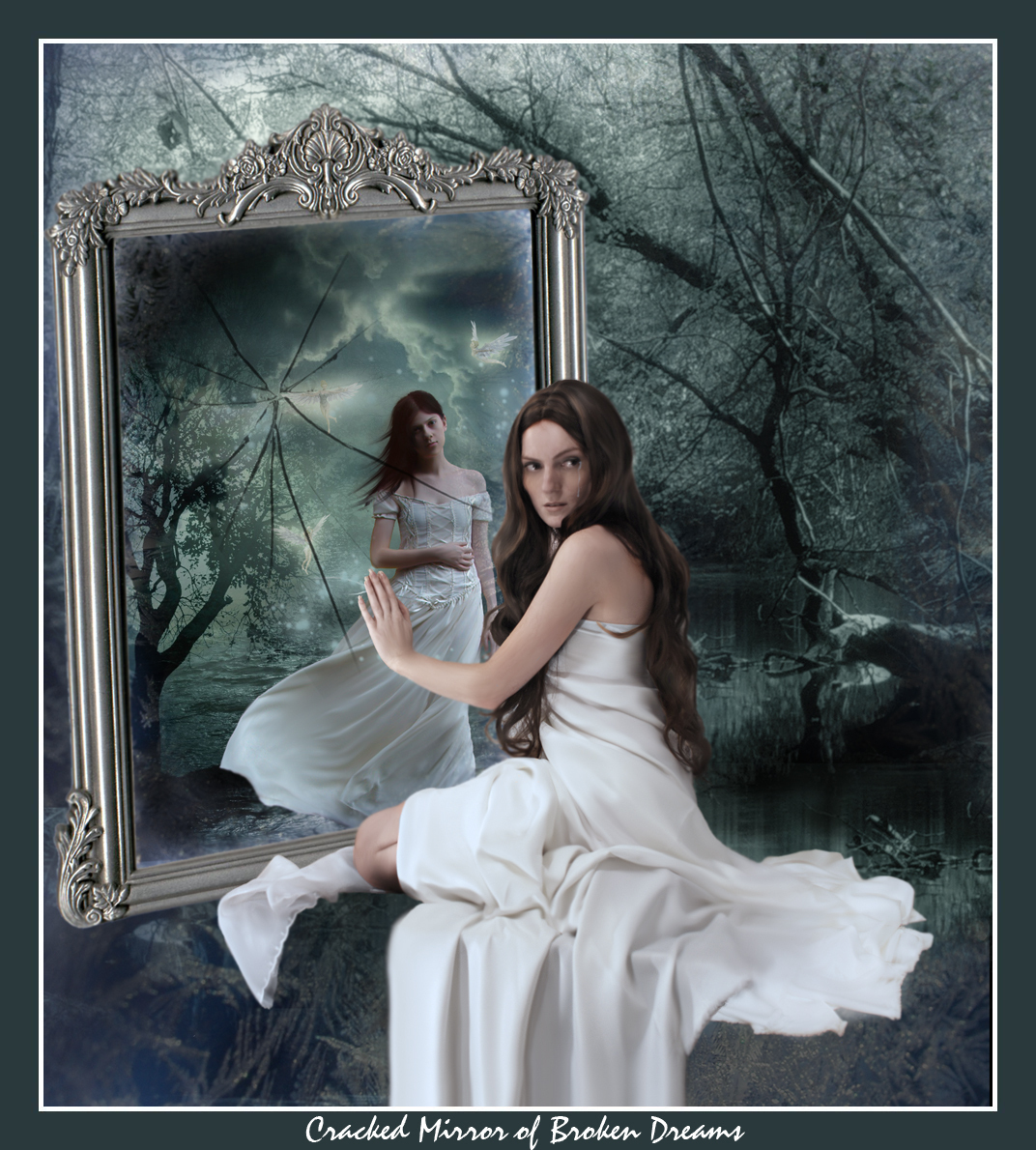 Riflesso Allo Specchio Sasie Katje88 Images Broken Mirror Hd Wallpaper And