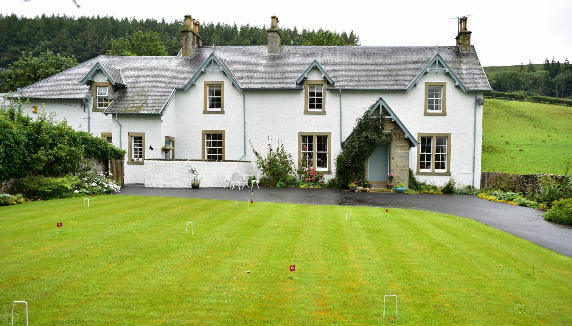 John Andrews Farmhouse Restaurant Wiltonburn Farm Hawick Td9 7ll Hotels Uk