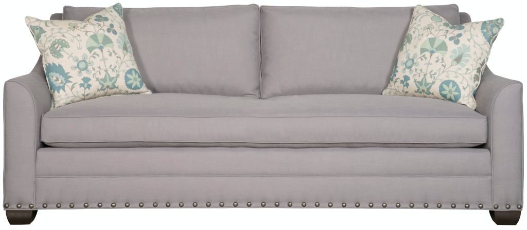Vanguard Furniture Chaise Southern Furniture Living Room Hudson Sofa 25221 - Whitley