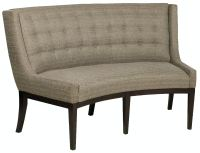 Vanguard Dining Room Alton Banquette W715