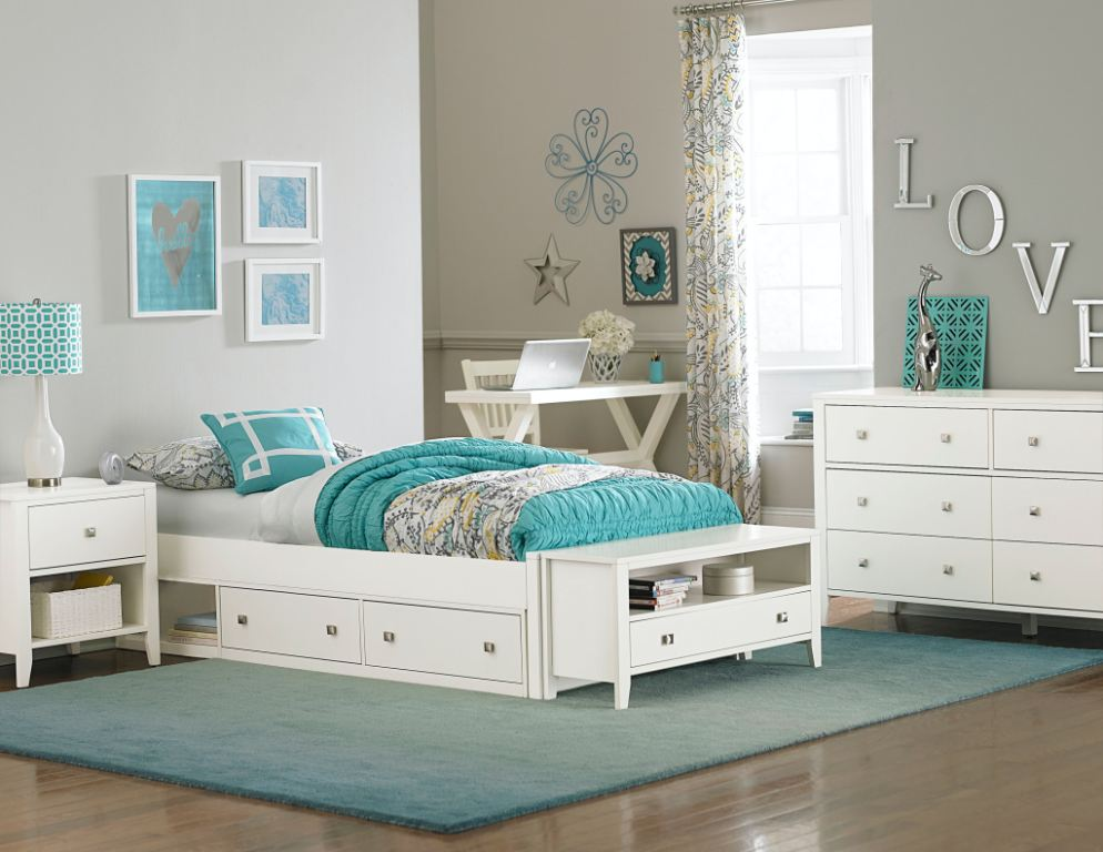 Hillsdale Kids And Teen Youth Pulse Twin Footboard 33001