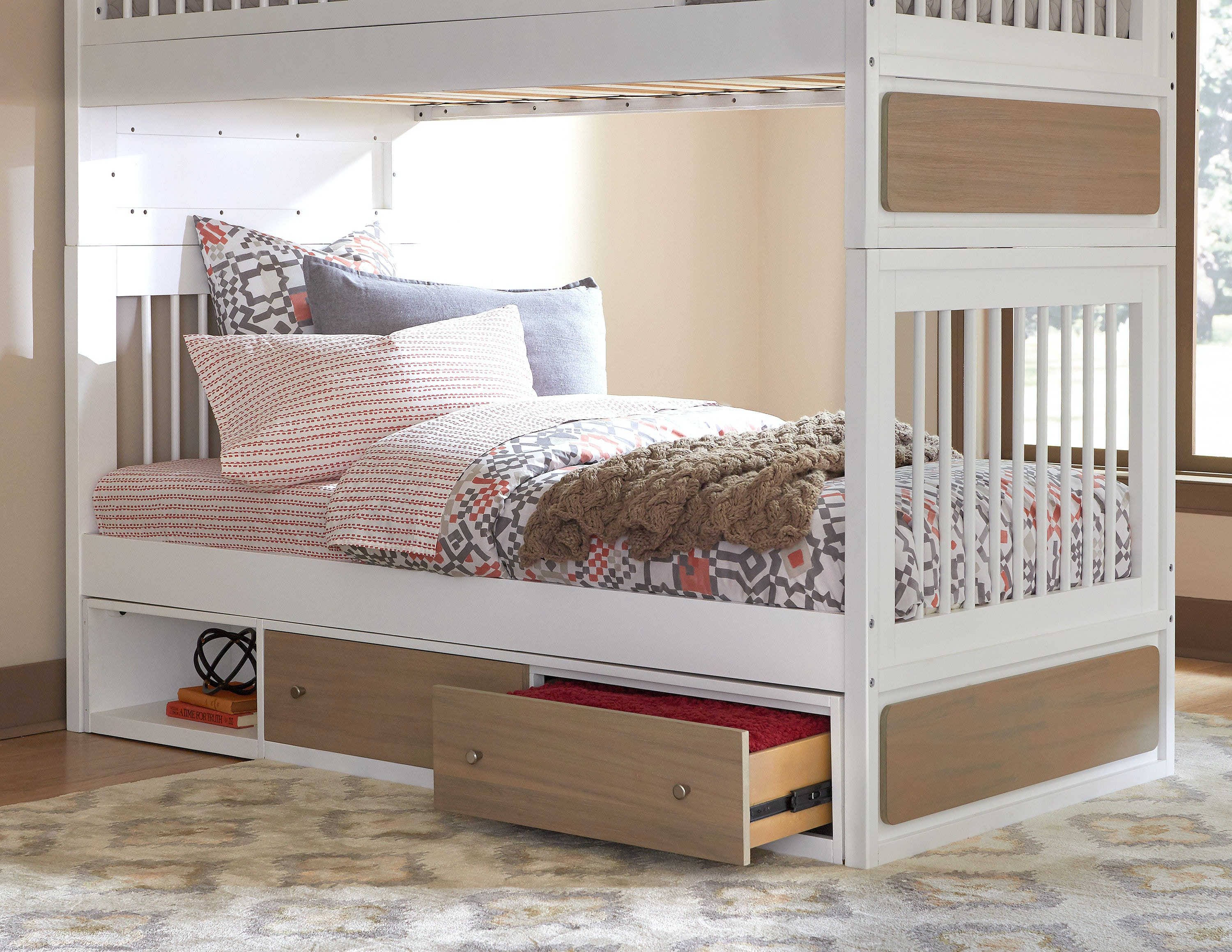 Bed End Storage Hillsdale Kids And Teen Youth East End Twin Jet Bed With