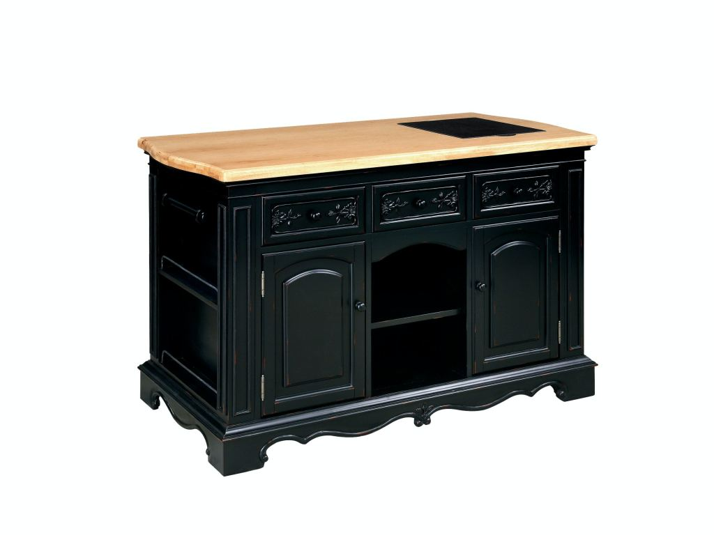Powell Pennfield Kitchen Island Powell Furniture Pennfield Kitchen Island 318-416 - Davis