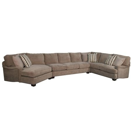 Furniture Financing Edmonton Fairmont Designs Living Room Calcutta Sectional D3639-sect