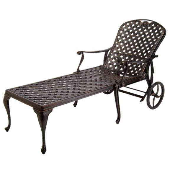 Chaise Aluminium Metro Summer Classics Outdoor/patio Provance Chaise Lounge 40532 - Gorman's - Metro Detroit And Grand