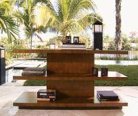 Tommy Bahama Home Living Room Lagoon Sofa Table 536-967 ...