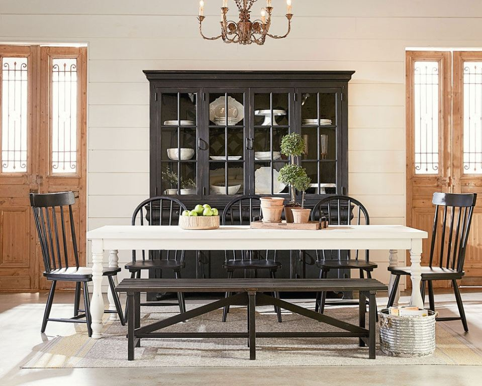 Joanna Gaines Farmhouse Dining Room Magnolia Home By Joanna Gaines Dining Room Table Dining