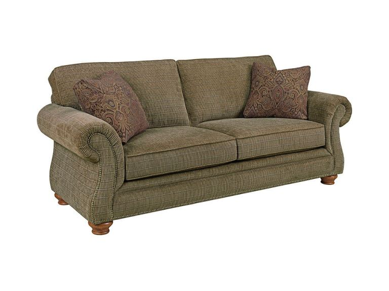 Beige Corduroy Sofa Broyhill Living Room Laramie Sofa 5081-3 - Davis Furniture
