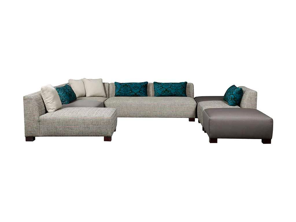 Broyhill Brown Corduroy Sofa Broyhill Living Room 6677 Sectional Burke Furniture Inc