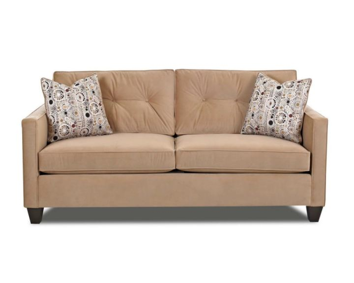 Hamilton Sofa And Leather Gallery Klaussner Living Room Brower E94300 S - Hamilton Sofa