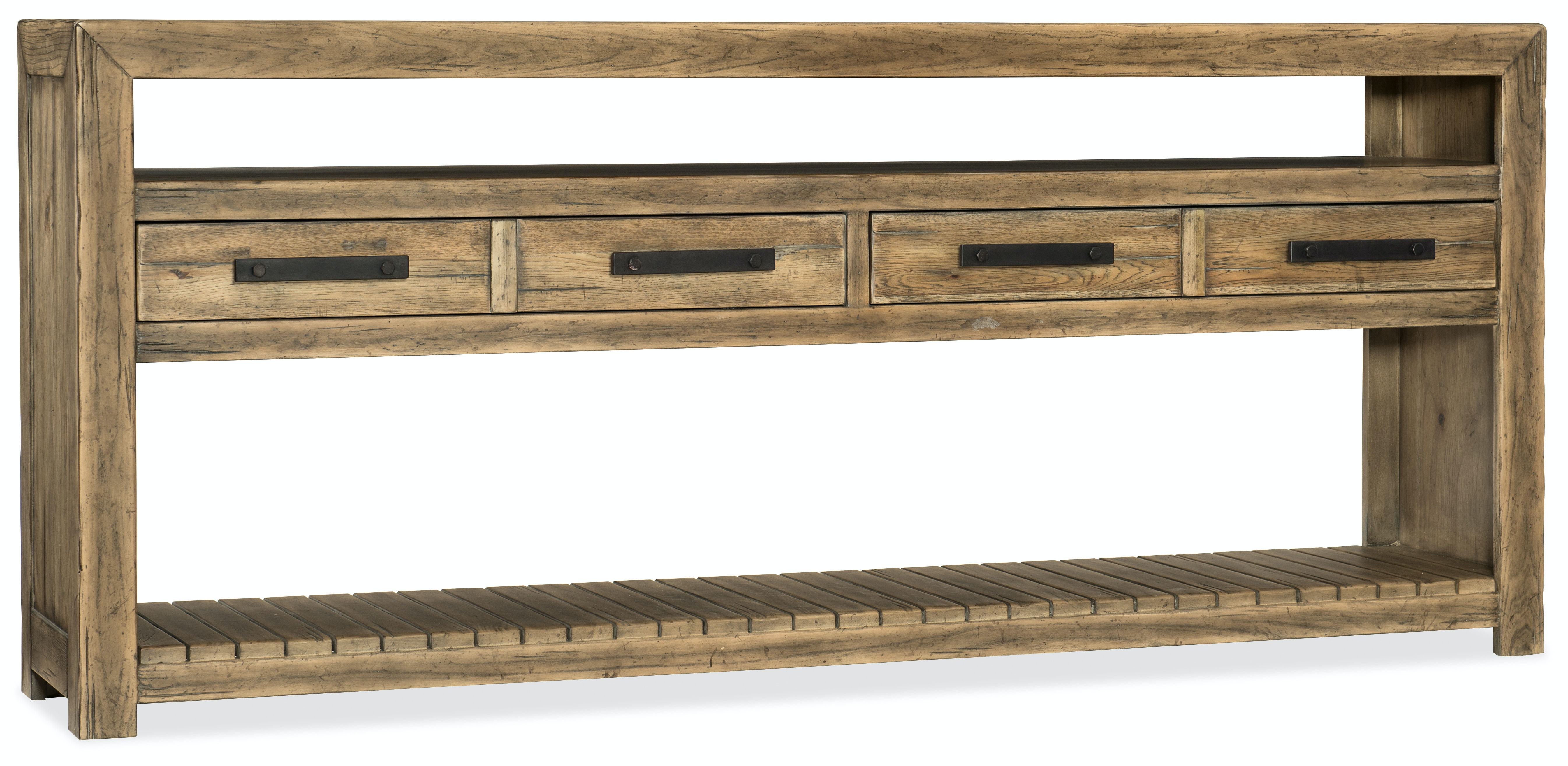 Hooker Furniture Living Room Roslyn County Console Table 1618 80161 Mwd