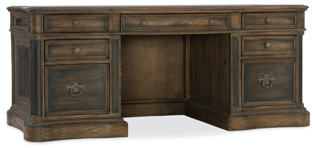 Executive Desk Canada Hooker Furniture Home Office St Hedwig Executive Desk