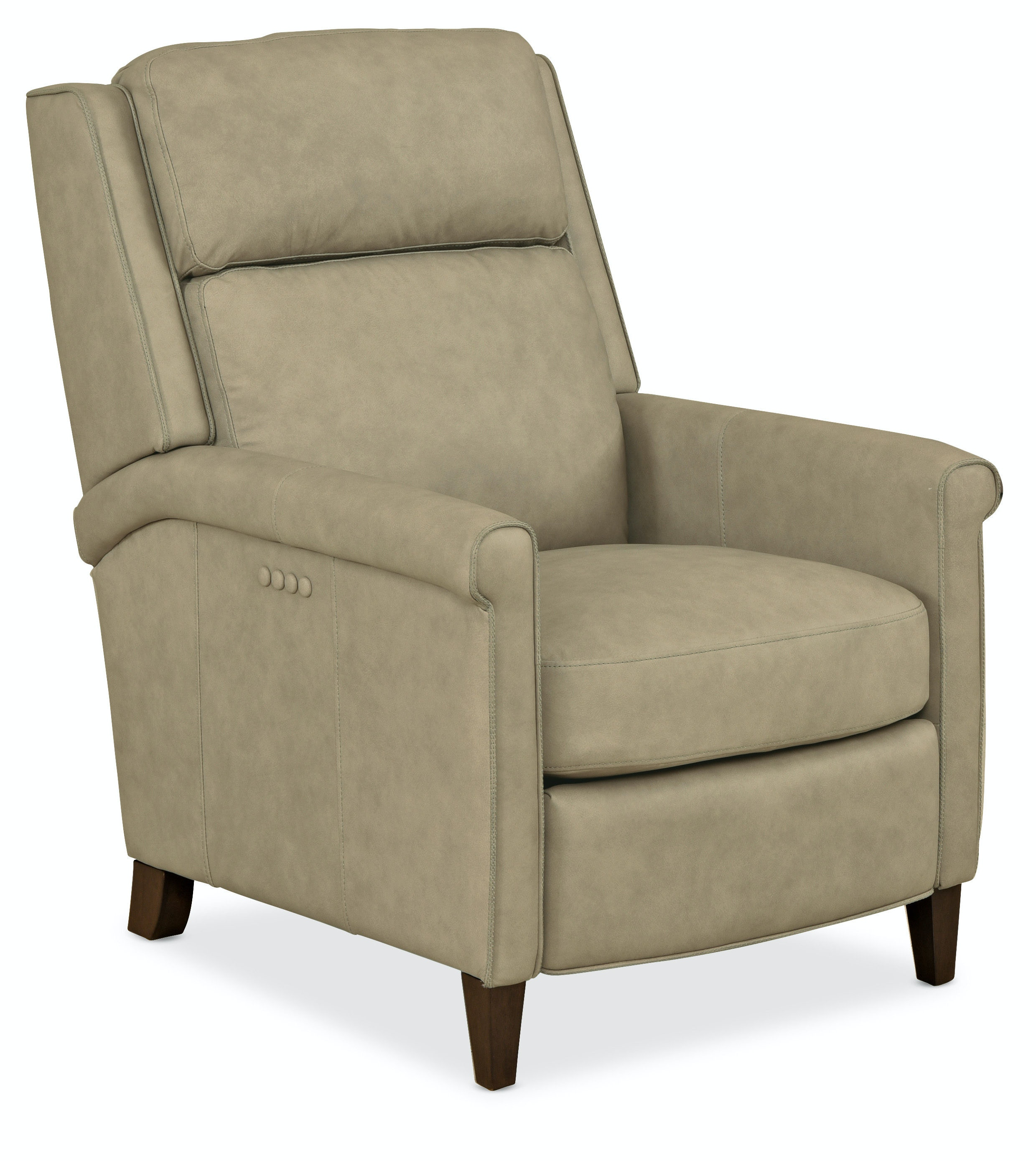 Hooker Furniture Living Room Rankin Pwr Recliner W Pwr Headrest Rc228 Ph 085
