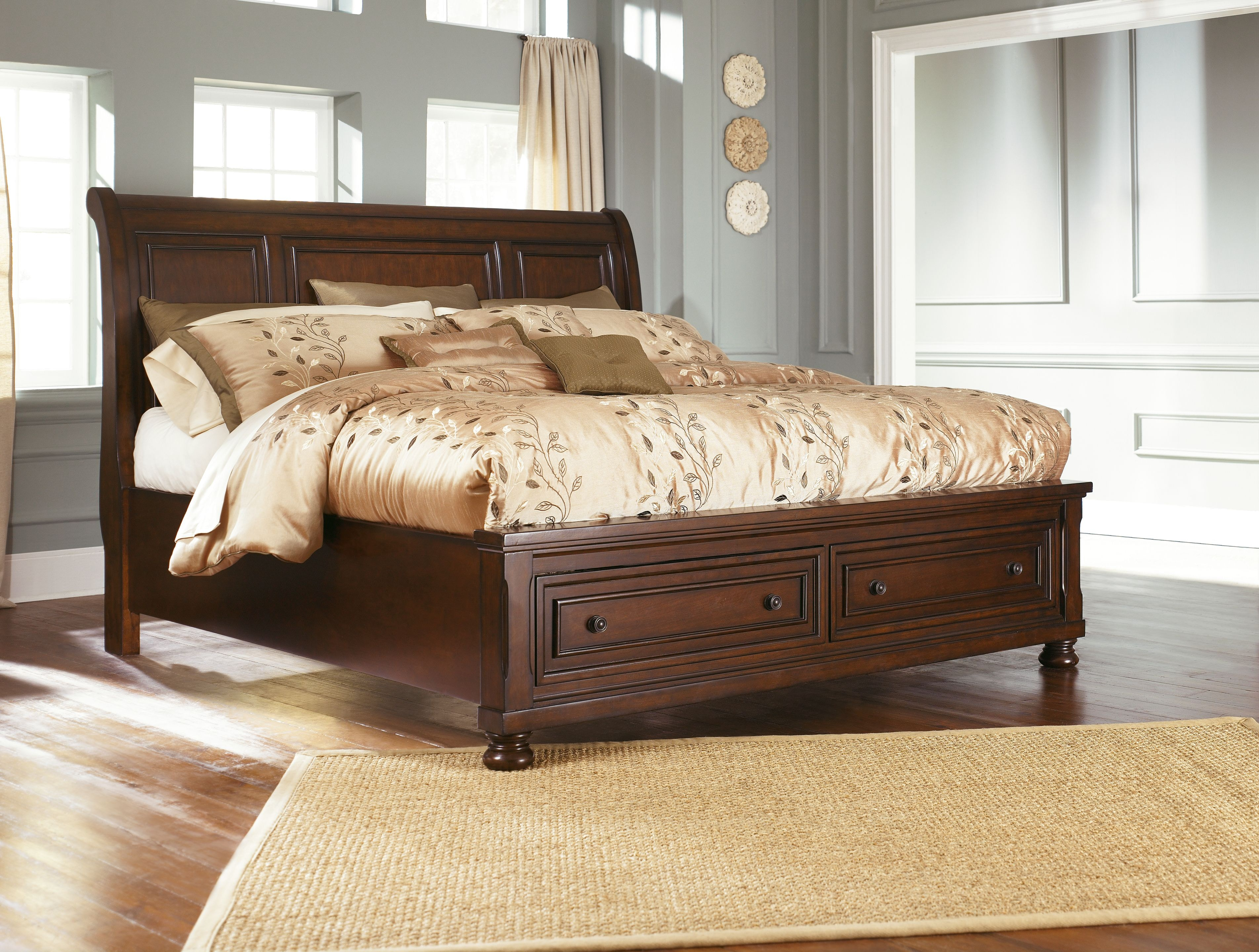 Bedding Storage Queen Sleigh Storage Bed King Available
