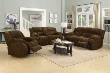 Coaster 3 Piece Living Room Set 601924 S3 Gibson