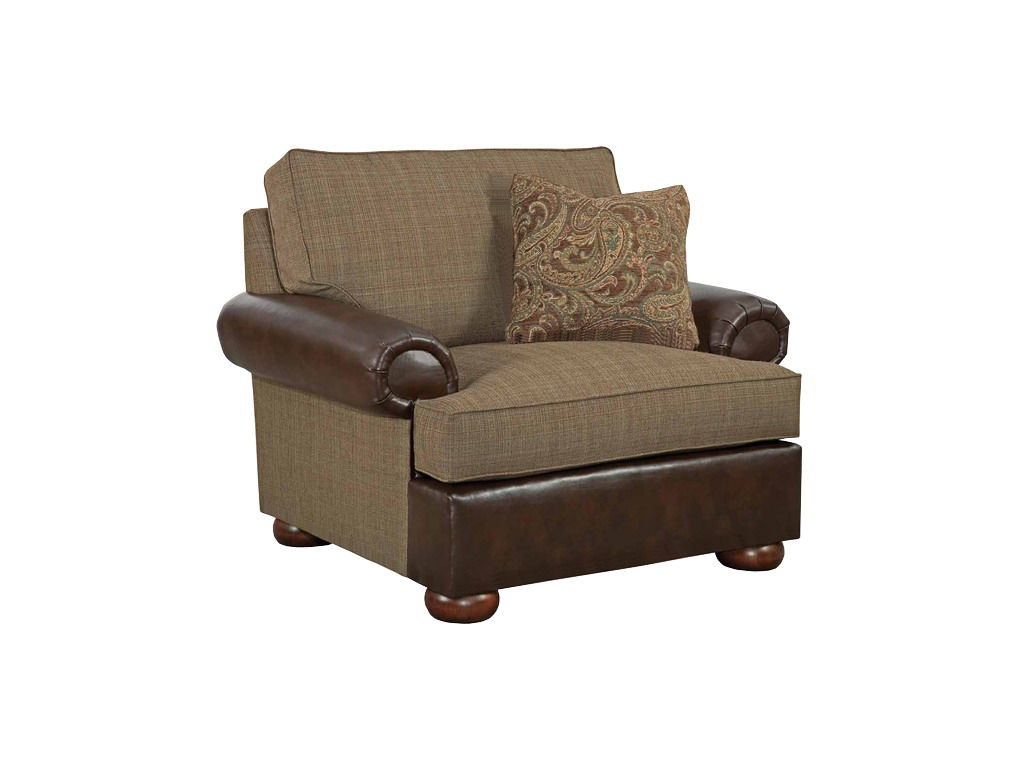 Kincaid Furniture Living Room Lubbock Chair And A Half 658