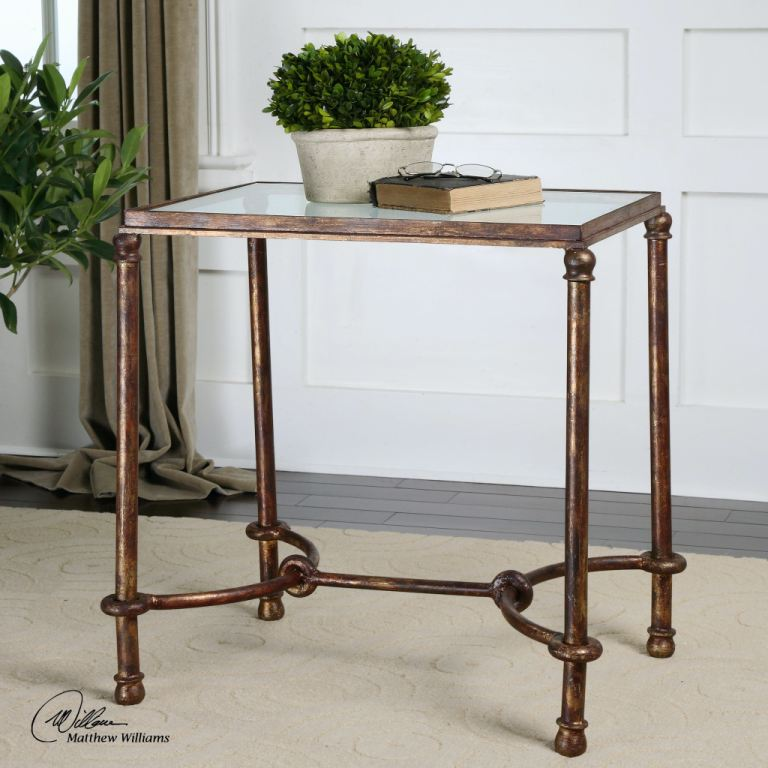Iron Side Tables For Living Room Uttermost Living Room Warring Iron End Table