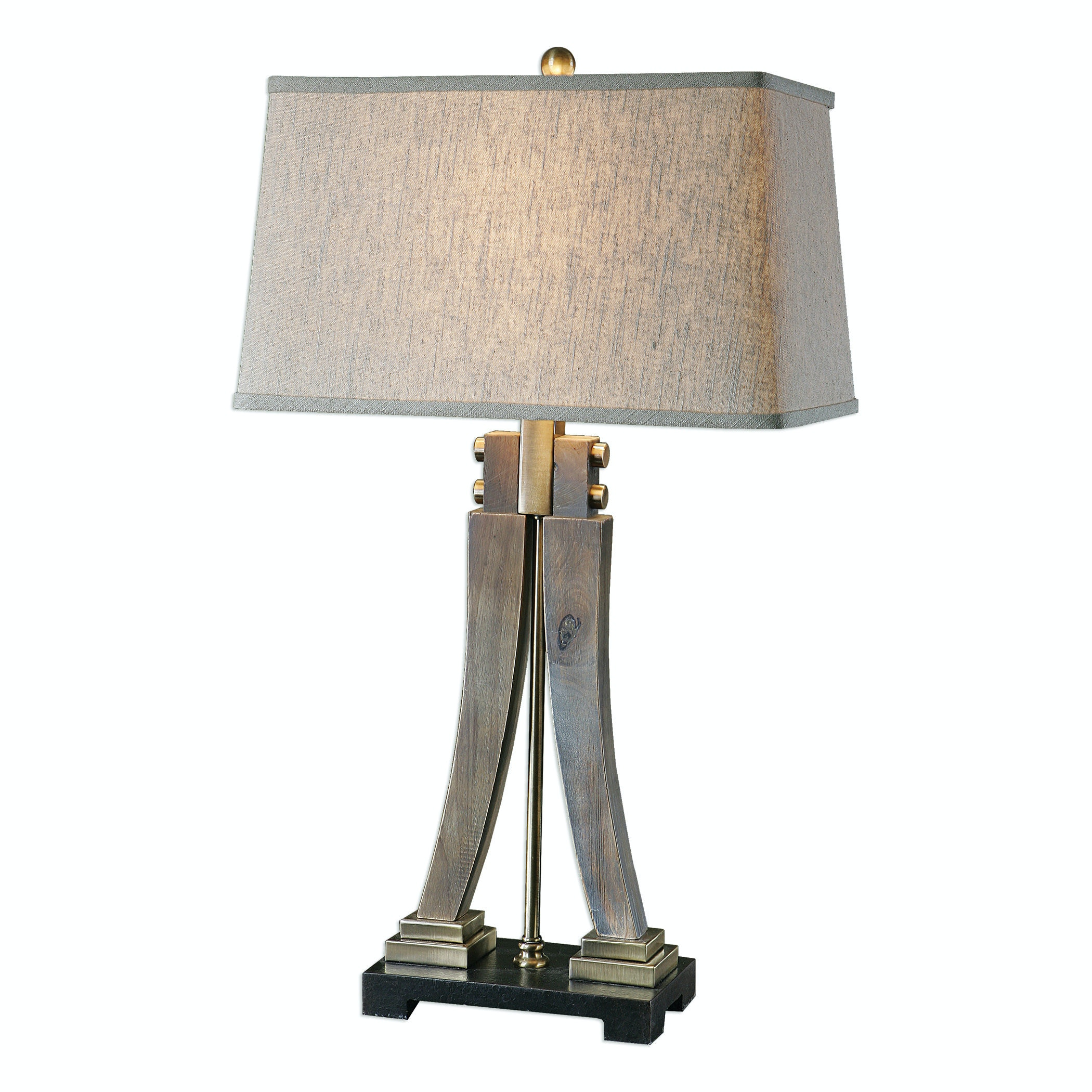Arte Furniture Showroom Yerevan Uttermost Lamps And Lighting Yerevan Wood Leg Lamp 27220 Oasis