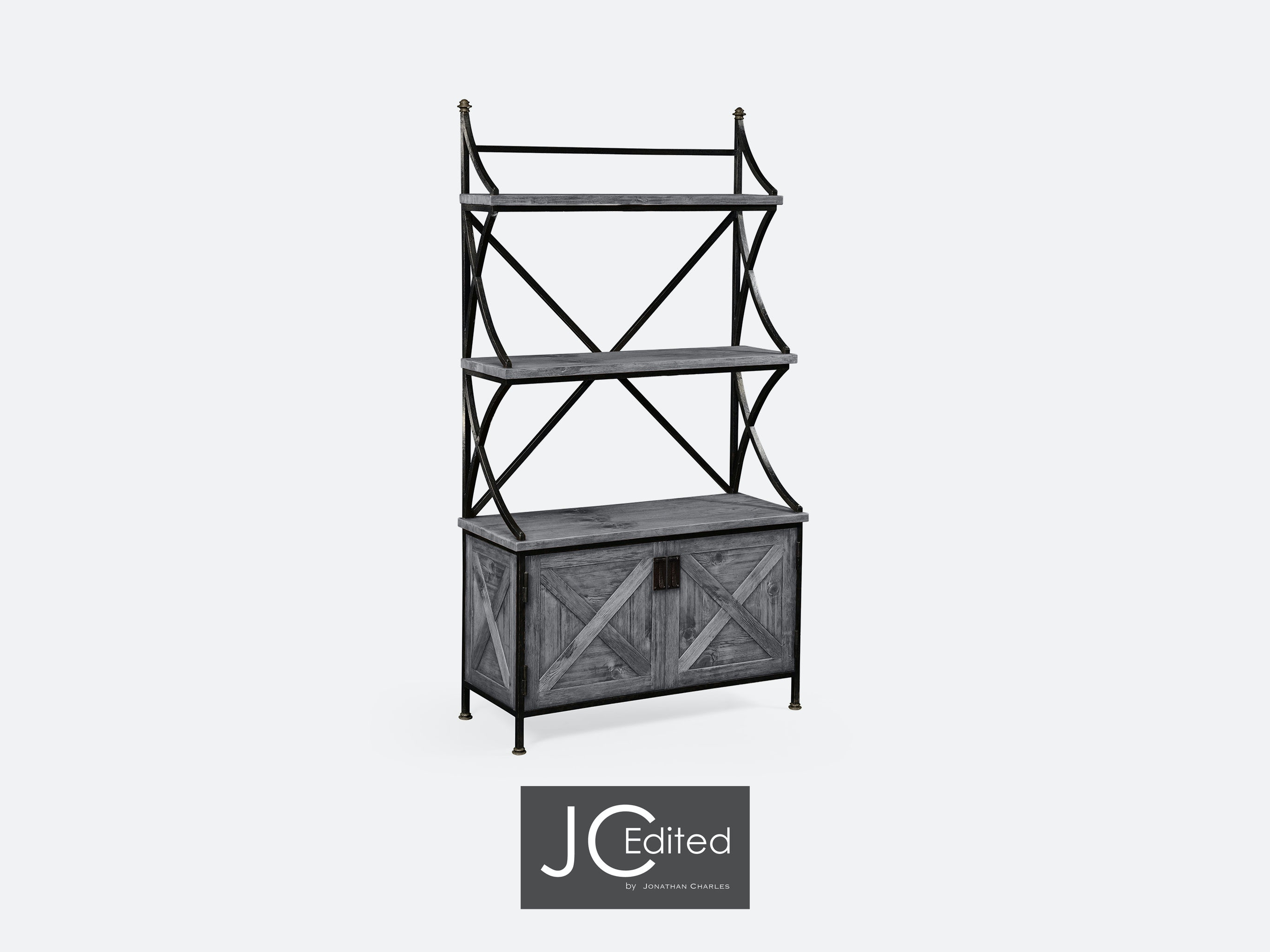 Etagere Groß Jonathan Charles Accessories Antique Grey Baker S Rack Etagere