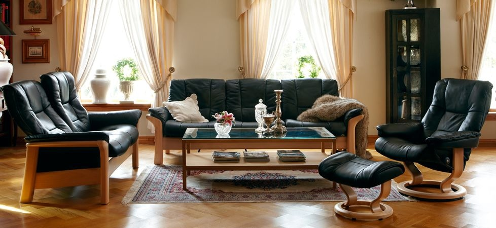 Ekornes Stressless Buckingham Sofa Stressless By Ekornes Living Room Stressless Buckingham