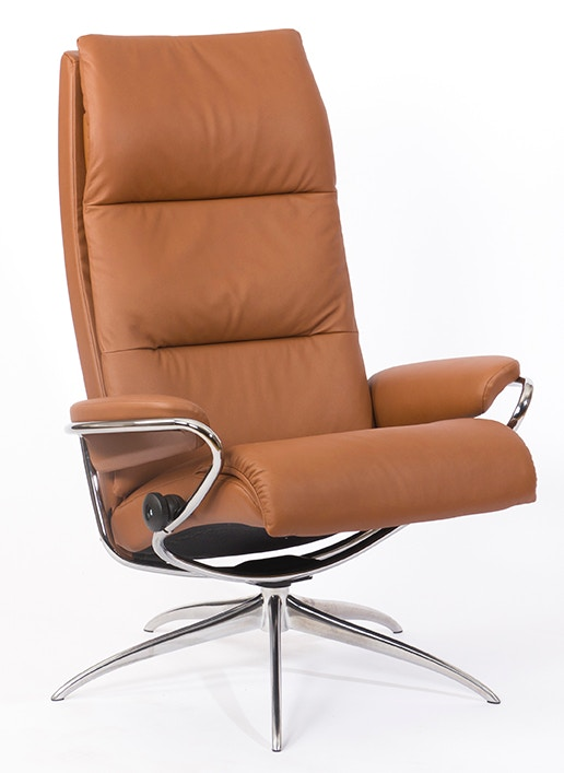 Stressless Outlet Stressless By Ekornes Living Room Stressless Tokyo High Back Star Base Chair And Ottoman 1353346 Walter E Smithe Furniture Design