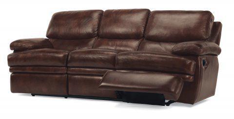 Flexsteel Dylan Leather Reclining Sofa 1127 62 908 72